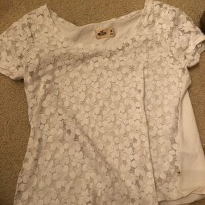Lacy front shirt from Hollister
